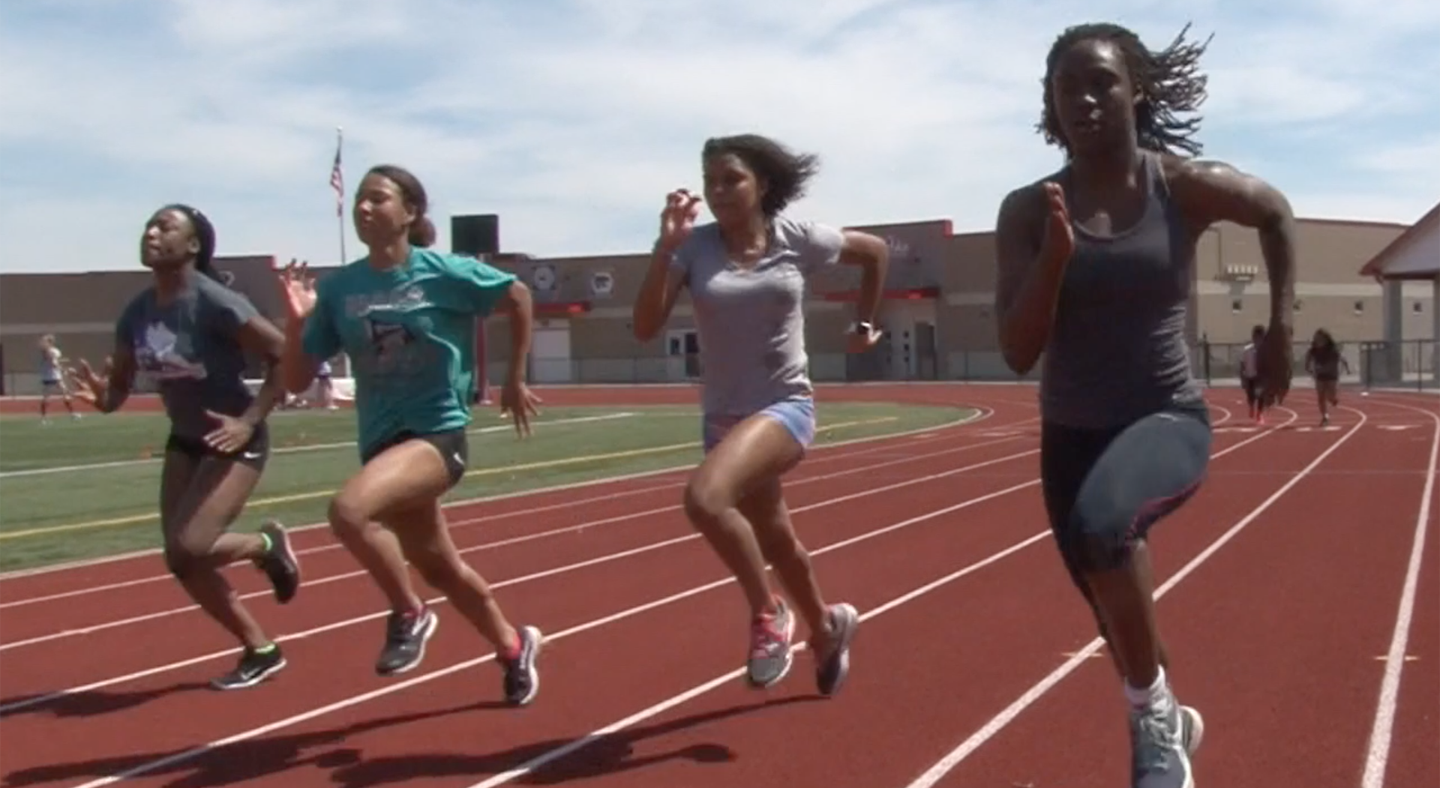 Meet Lynna Irby, Pike Track Star