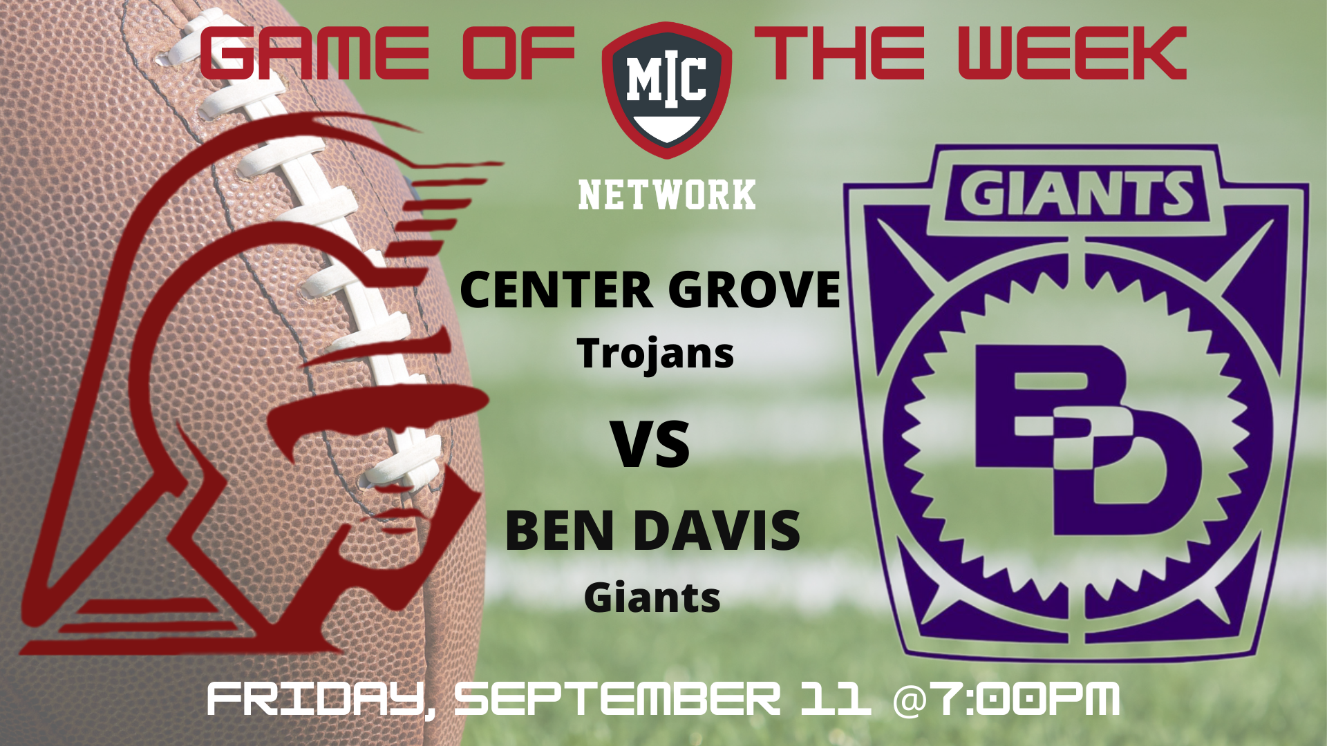 Center Grove v Ben Davis (Full Game)